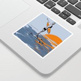 Rock and Stroll- Surfer Girl Sticker