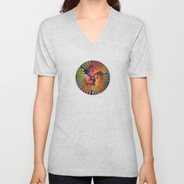 Long-billed Birds Unisex V-Neck