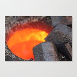 Hot Copper Canvas Print