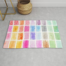 color swatch Rug