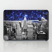 new york city iPad Cases featuring new york city. Blue Stars by 2sweet4words Designs