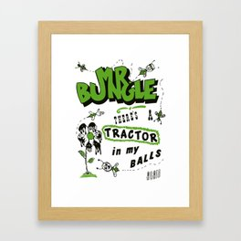 bungle Framed Art Print