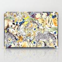 safari iPad Cases featuring Safari by Katie Rose Johnston