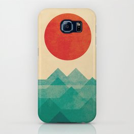 The ocean, the sea, the wave iPhone Case