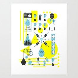 Sweet Morning Poster Art Print