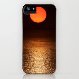 The Smoke Filtered Light from the Sonoma County Fires iPhone Case