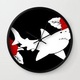 Shark Jolly Roger Wall Clock