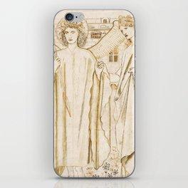 "Edward Burne-Jones ""Chaucer's 'Legend of Good Women' - Amor and Alcestis"" iPhone Skin"