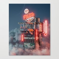 Phil's Gas Station Canvas Print