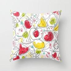 Fruitopia Throw Pillow