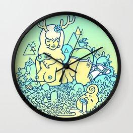 earthy delights Wall Clock