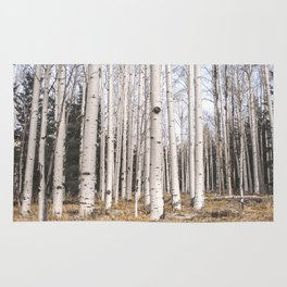 Trees of Reason - Birch Forest Rug