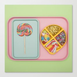 Party Tray Canvas Print