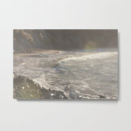 Salt Water  Metal Print
