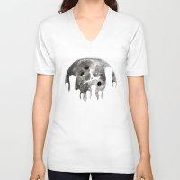 lebowski V-neck T-shirts featuring mr lebowski !  by Darthdaloon