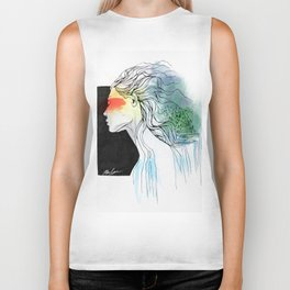 Mother of the Earth Biker Tank