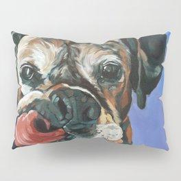 Baron the Boxer Dog Portrait Pillow Sham