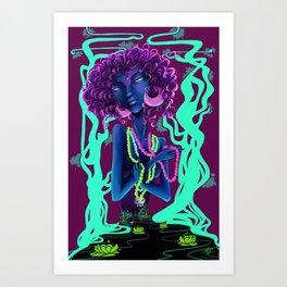 New Orleans girl Art Print
