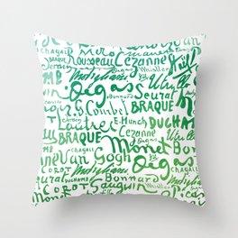 Signatures Green Throw Pillow