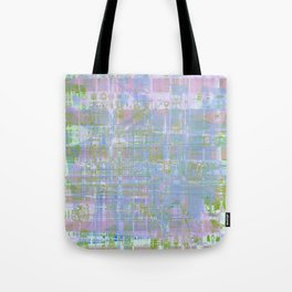Paint the wall with many colors and shapes Tote Bag
