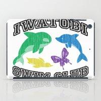 iwatobi iPad Cases featuring Iwatobi Swim Club by drawn4fans