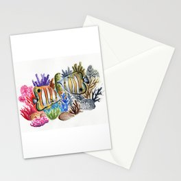 Dying Reef Stationery Cards