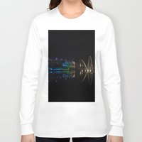 new year Long Sleeve T-shirts featuring New Year by theGalary