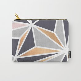Geometry Gold 047 Carry-All Pouch