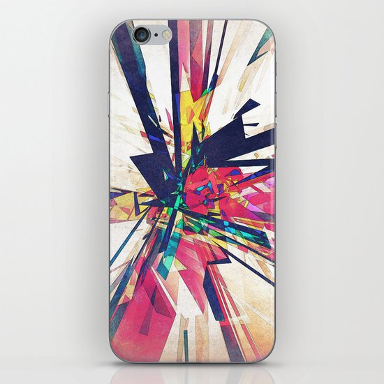 Abstract Geometry iPhone & iPod Skin