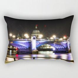 St pauls at night. Rectangular Pillow