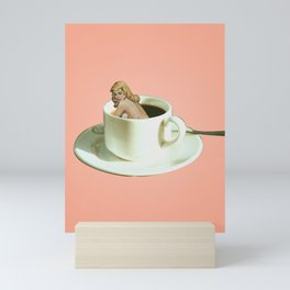 Her Name is Jo :) - pink Mini Art Print