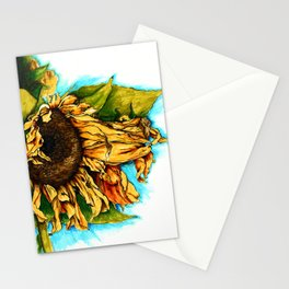 Sunflower in Summer Stationery Cards