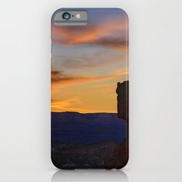 Sunrise 0988 Thor's_Hammer, Bryce Canyon National Park iPhone Case