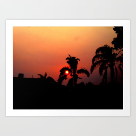 Nother Sunset Art Print