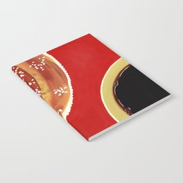 Coffee & cinnamon bun Notebook