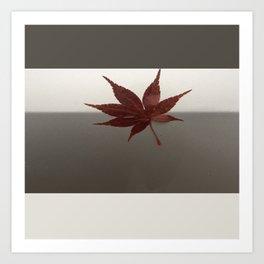 Last Leaf of Autumn Art Print
