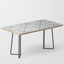 starburst in black and white on grey Coffee Table