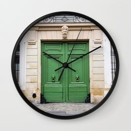 Envy - Ornate Parisian Door Wall Clock