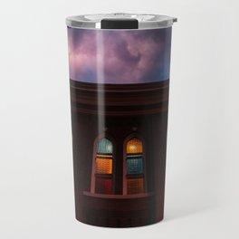 Sunset at the Ryman Travel Mug