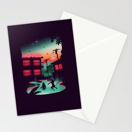 Night Swim Stationery Cards