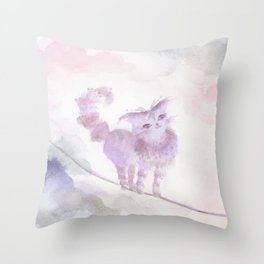 Varo Tiptoe Sky Throw Pillow
