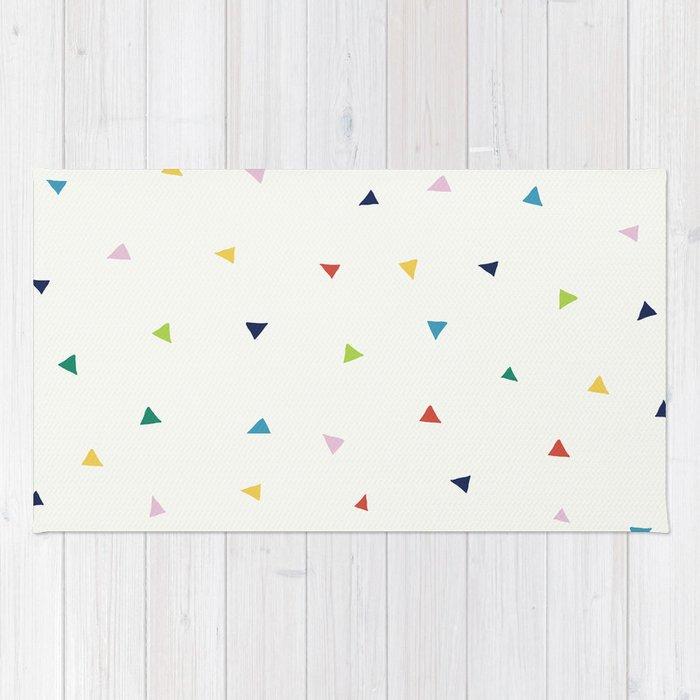 Cute Confetti Pattern Rug