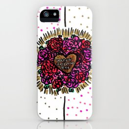 Valentines Brain iPhone Case