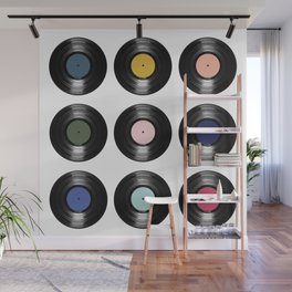 For the Record Wall Mural