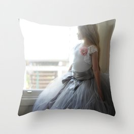 Parisian Beauty Throw Pillow