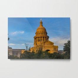 Austin, Texas Capitol Metal Print