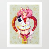 Sailor Chibi Moon ! Art Print