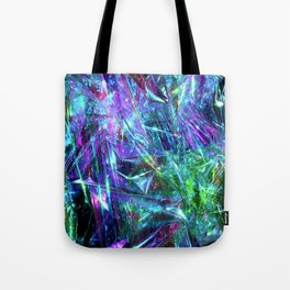 Abstract Prismatic Colors Tote Bag