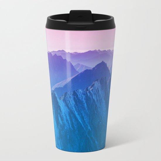 Mountains 2017 Metal Travel Mug