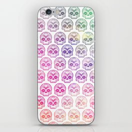 "Custom Design Modern Sugar Skull (""Calavera"") iPhone Skin"